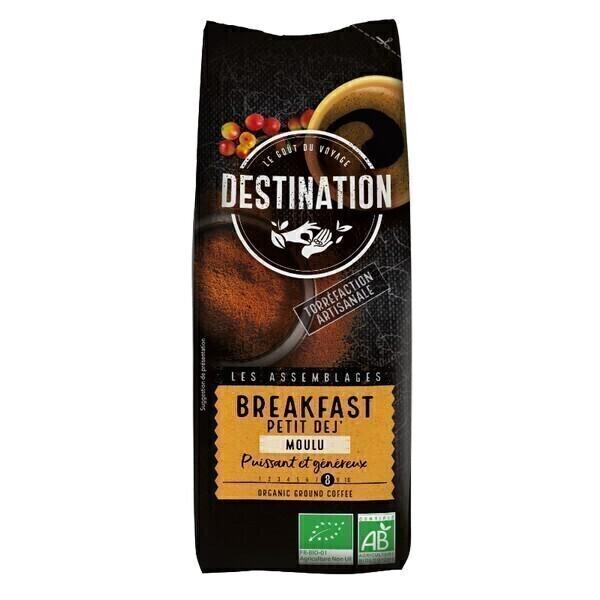 Destination - Café moulu Petit déj' 250g