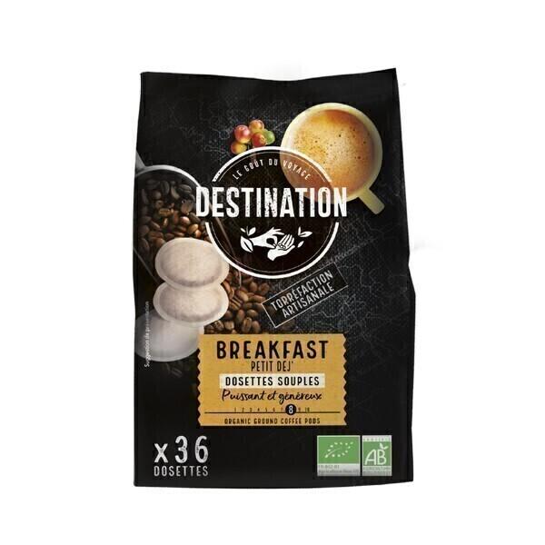 Destination - Petit déj' Dosettes souples x36