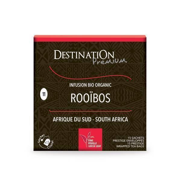 Destination - Rooibos sans théine BIO 15x2g