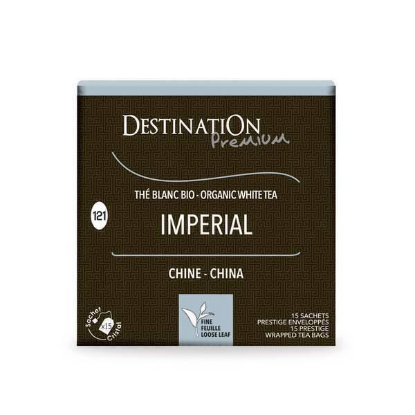 Destination - Thé blanc impérial Chine - 15x2g
