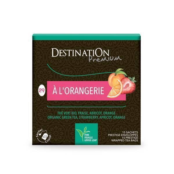 "Destination - ""To the Orangery"" Green Tea"