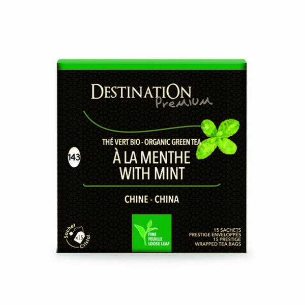 Destination - Organic Marrakesh Mint Green Tea 15 x 2g