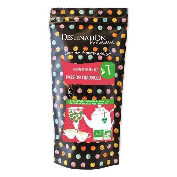 Destination - Passion Fruit-Limoncello Green Tea 80g