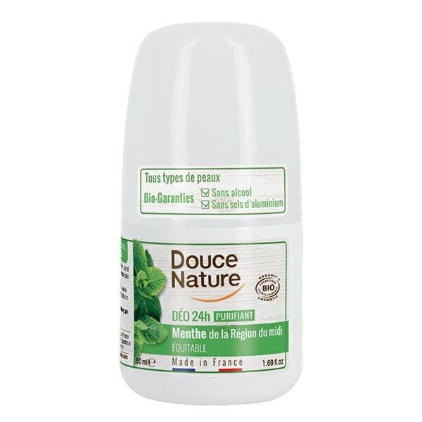 Douce Nature - Déodorant purifiant menthe équitable 50ml