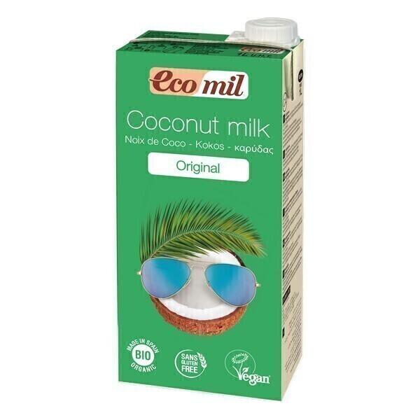 EcoMil - Leche de Coco con sirope de Agave 1L