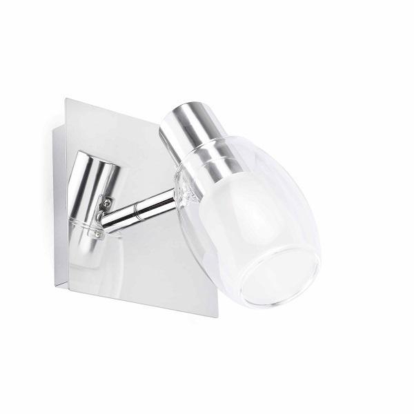 yuri led spotlight 1 chrome faro barcelona shop online. Black Bedroom Furniture Sets. Home Design Ideas