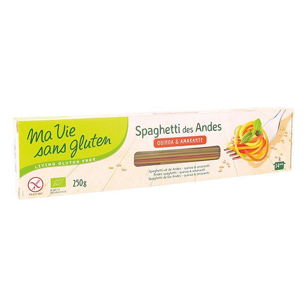 Ma Vie Sans Gluten - Spaghetti des Andes sans gluten 250g