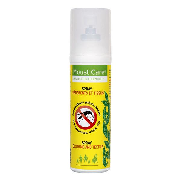 Mousticare - Spray anti-moustiques Vêtements et Tissus 75 ml