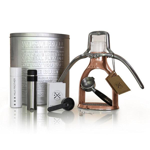 Machine caf manuelle copper rok ex presso acheter sur - Acheter une machine a cafe ...