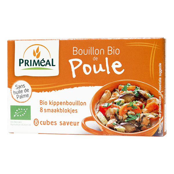 Priméal - Bouillon de poule en cube 80g