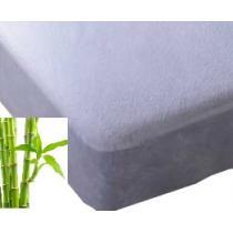 Easy Dort - Alèse en viscose de bambou 40x90cm, coloris blanc