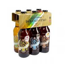 Brasseurs Savoyards - BS Organic Beers Mixed Selection 6-Pack 330ml