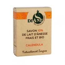Diâne - Jabón de leche de asno Caléndula 100gr