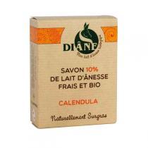 Diâne - Savon Lait d'ânesse Calendula100gr
