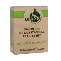 Diâne - Jabón de leche de asno Suavidad de almendras 100gr