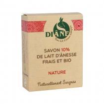 Diâne - Savon Lait d'ânesse Nature 100gr