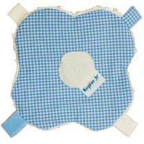 Keptin Junior - Doudou bébé Blankiez Fleur bleu