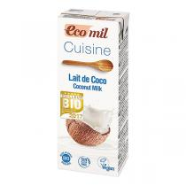 EcoMil - Pack of 3 Cuisine Coconut Milk 200ml