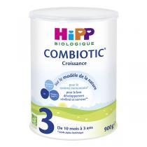 Hipp - Lot de 6 x Combiotic 3 lait de croissance Bio dès 12 mois 900g