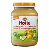 Holle - Lot 2 petits pots courgette, potiron, pomme de terre dès 6 mois