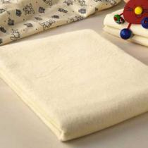 Cotonea - Lot de 2 serviettes en molleton de coton bio