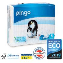 Pingo - Pack de 4 paquets 36 couches T5 12-25kg