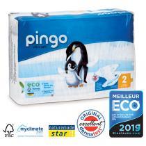 Pingo - Pack de 4 paquets 42 Couches T2 3-6kg