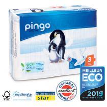 Pingo - Pack de 8 paquets 44 Couches T3 4-9kg
