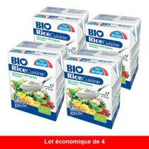 The Bridge - Lot de 4 crèmes de riz Cuisine - 200ml