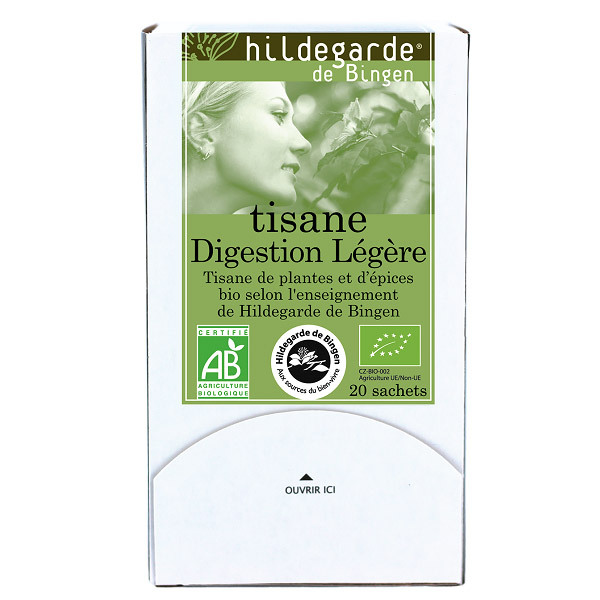 Hildegarde de Bingen - Tisane Digestion legere - 20 sachets