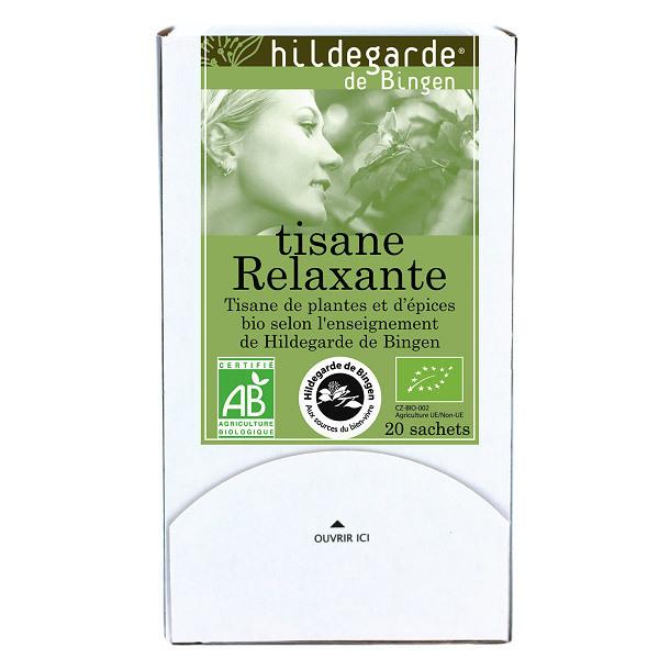 Hildegarde de Bingen - Tisane relaxante - 20 sachets