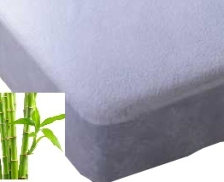 Easy Dort - Alèse en viscose de bambou 70x140, coloris blanc