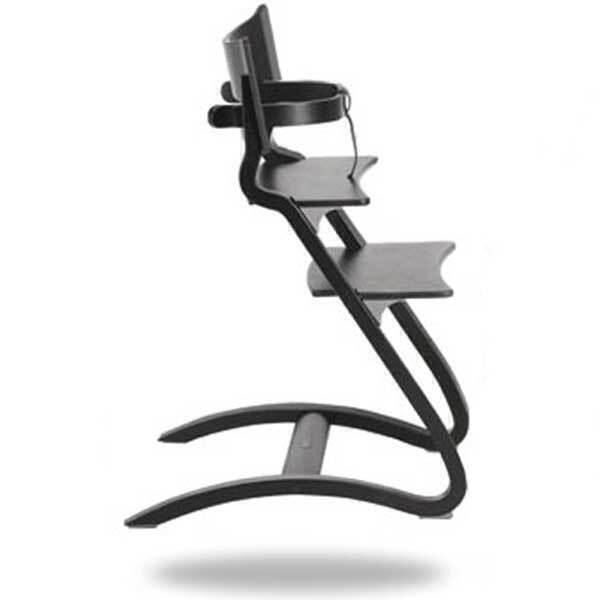 chaise haute volutive design noire leander la r f rence bien tre bio b b. Black Bedroom Furniture Sets. Home Design Ideas