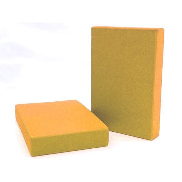 Chin Mudra - Bloque de Yoga 5 cm - Naranja