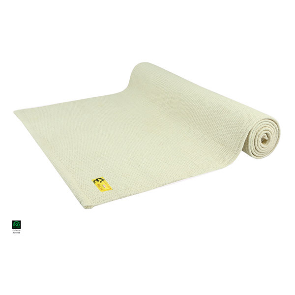 tapis de yoga taj coton bio 2 m cru chin mudra acheter sur. Black Bedroom Furniture Sets. Home Design Ideas