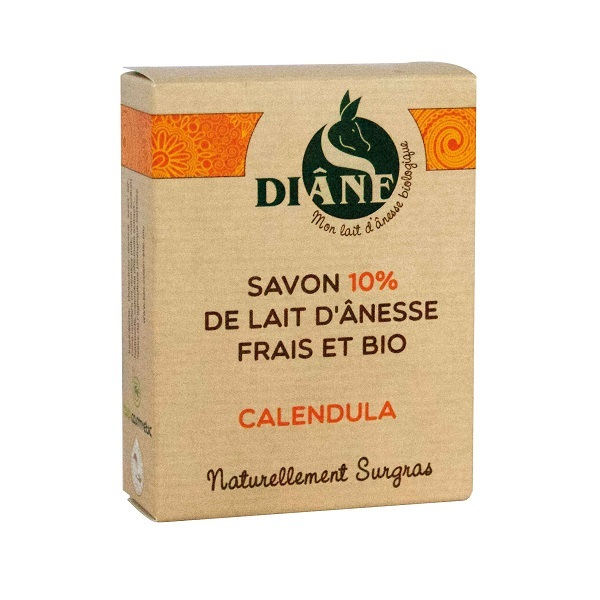 Diâne - Savon lait d'ânesse calendula 100g