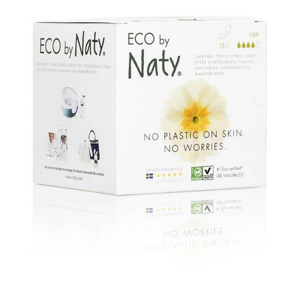 Naty by Nature Babycare - 13 Damenbinden - Extra Normal Plus