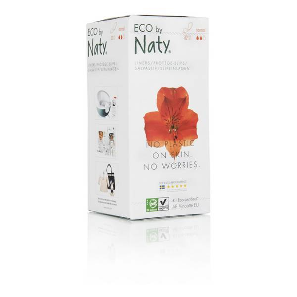 Eco by Naty - 32 protège slips - taille normal
