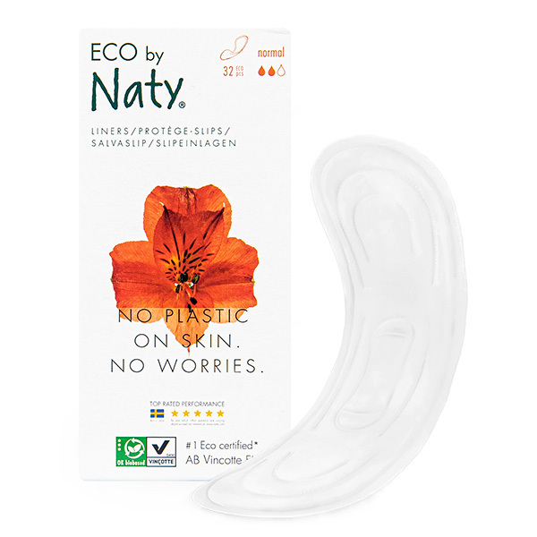 Eco by Naty - 32 protège-slips - Normal