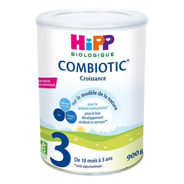 176023c11dde78 Hipp - Lot 6 boites HiPP 3 Lait de Croissance Bio 900g. Loading zoom