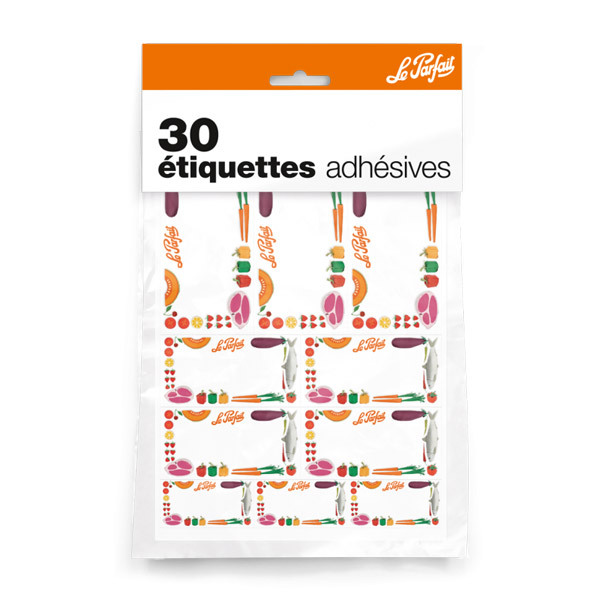 Le Parfait - 30 Jar Labeling Stickers