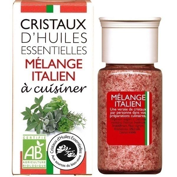 Aromandise - Cristaux d'huiles essentielles - Mélange italien