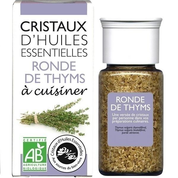 Aromandise - Cristaux d'huiles essentielles - Ronde de Thyms