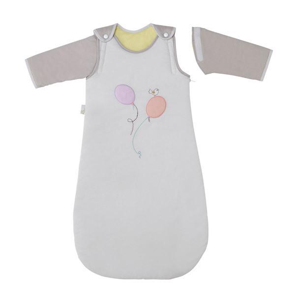 P'tit Basile - Babyschlafsack mit Ärmeln aus der Kollektion Comme une plume für