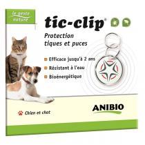 Anibio - Médaille Tic-Clip protection naturelle tiques et puces
