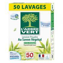L'Arbre Vert - Lessive poudre au savon végétal 2.5kg