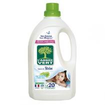 L'Arbre Vert - Lessive Liquide concentrée pour Bébé 1.5L