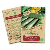 La Semence Bio - Graines de Courgette Black Beauty