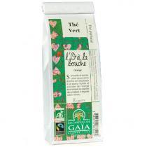 Les jardins de Gaïa - Thé Parfumé l'O à la Bouche 100g