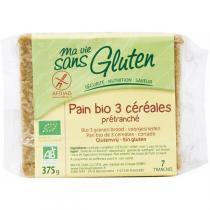 Ma Vie Sans Gluten - Pain Bio aux 3 céréales